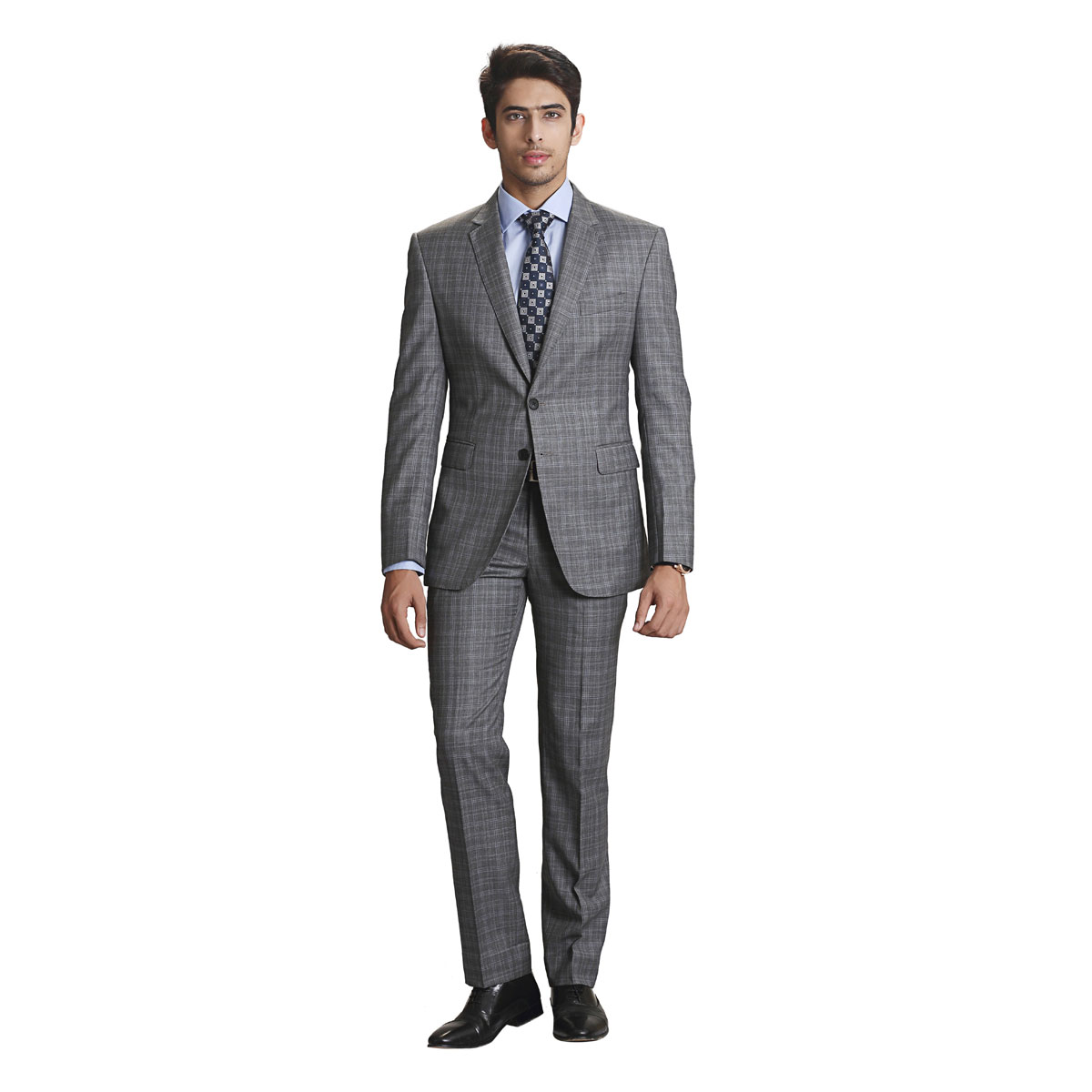 Smiling Dreams Grey Suit - Best Bespoke Suits. Premium Custom ...