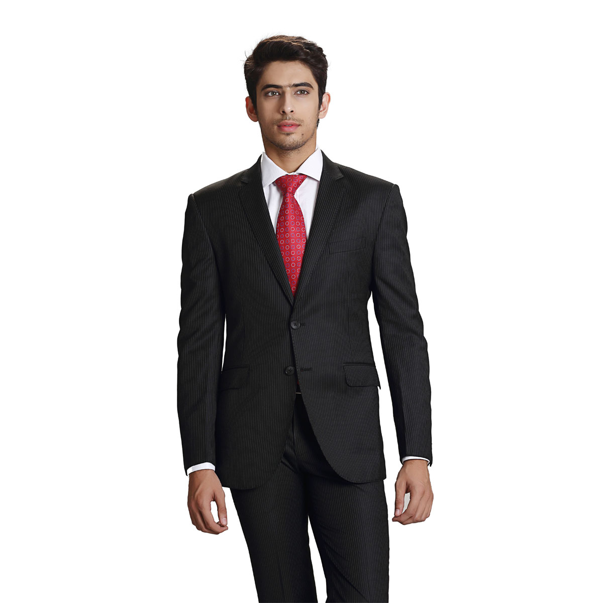 Dream & Dare Black Stripe Suit - Best Bespoke Suits. Premium