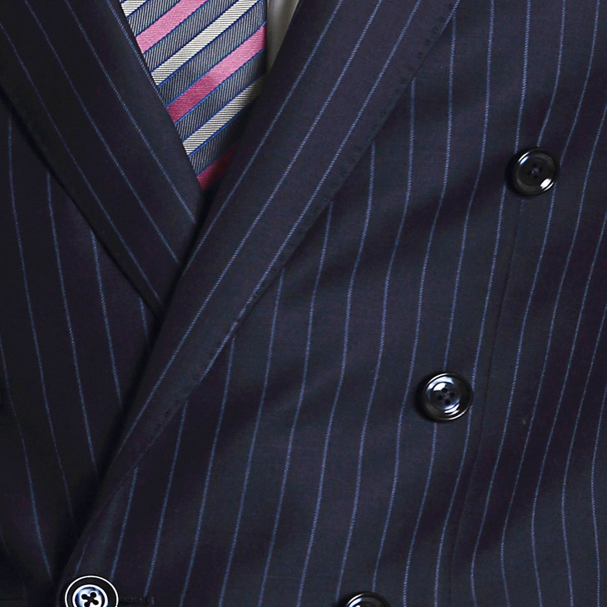 Take Charge Blue Stripe Suit - Best Bespoke Suits. Premium Custom ...
