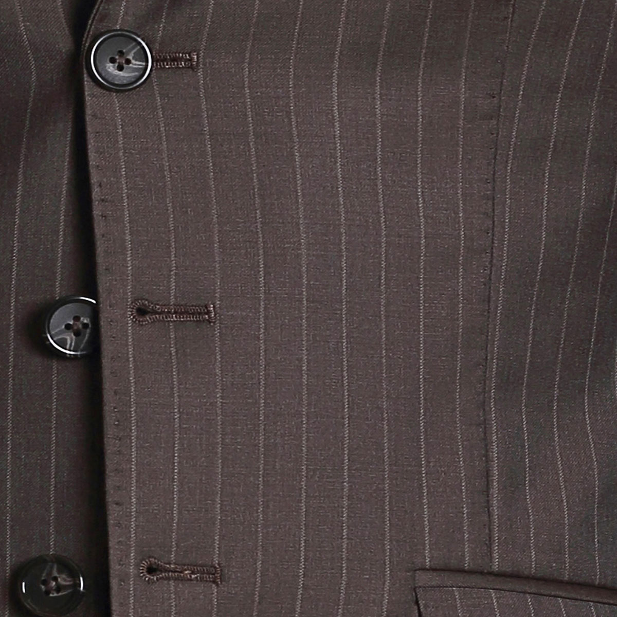 Crowning Glory Brown Stripe Suit - Best Bespoke Suits. Premium ...