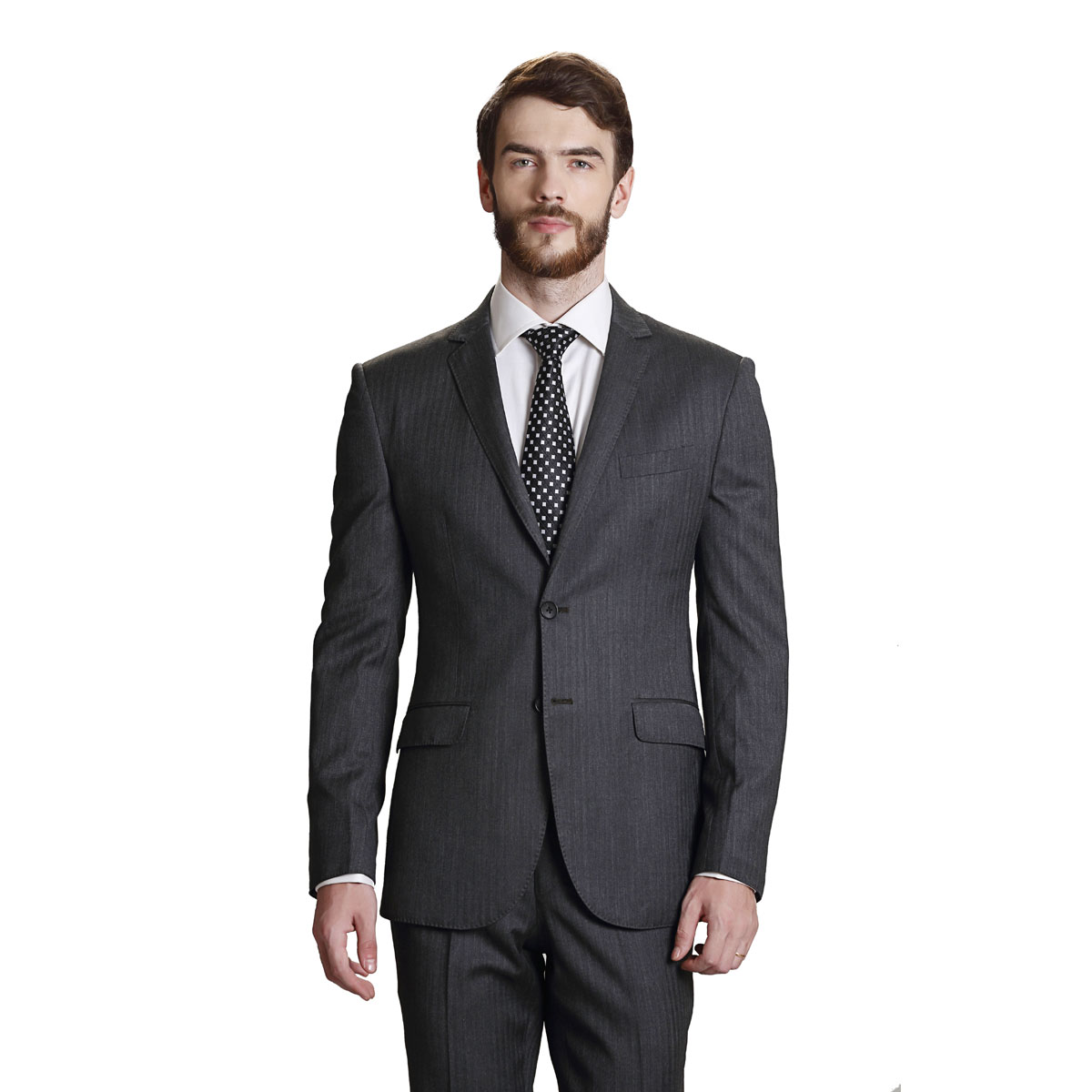 Million Dollar Grey Suit - Best Bespoke Suits. Premium Custom