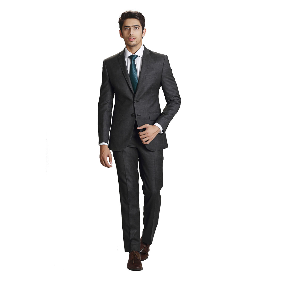 Fall In Love Charcoal Suit - Best Bespoke Suits. Premium Custom ...