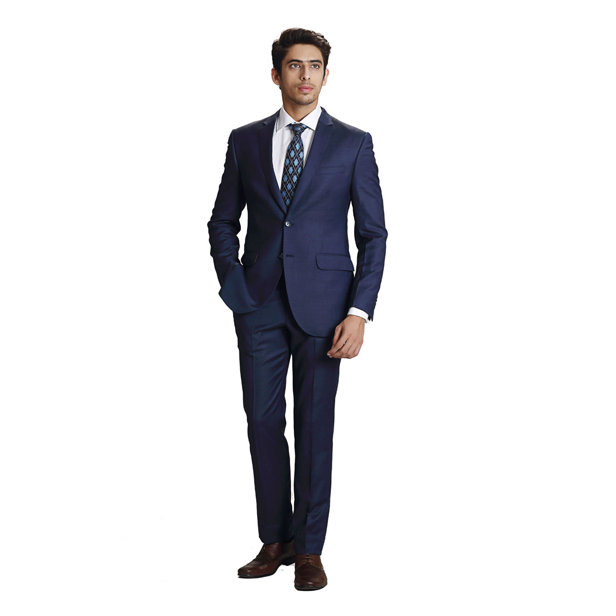 Out Of The Blue Suit - Best Bespoke Suits. Premium Custom Tailored