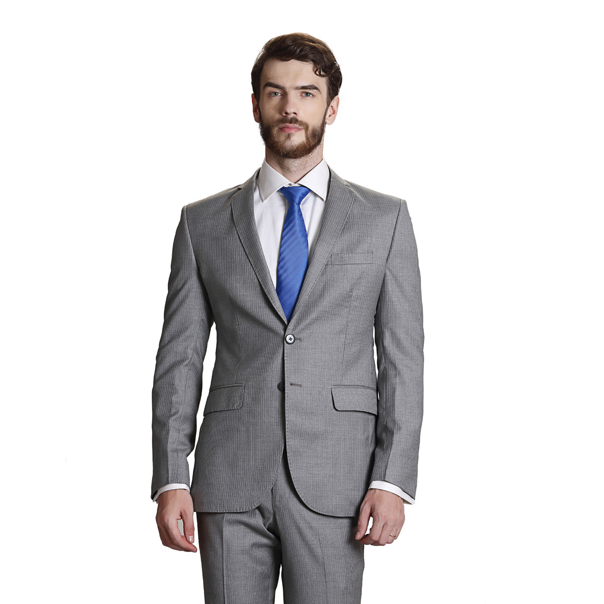 Heaven On Earth Grey Suit - Best Bespoke Suits. Premium Custom