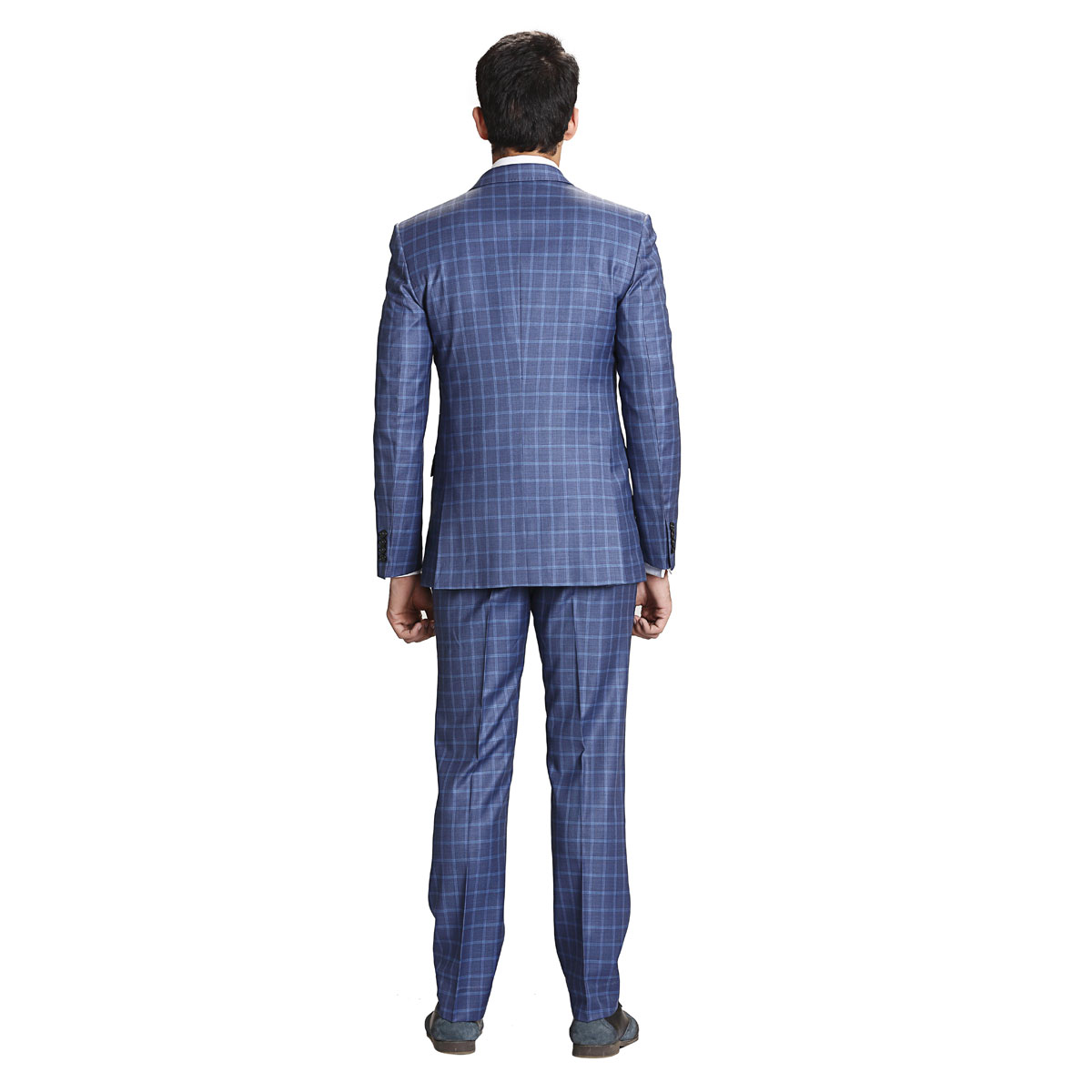 Blue Blood Check Suit - Best Bespoke Suits. Premium Custom ...